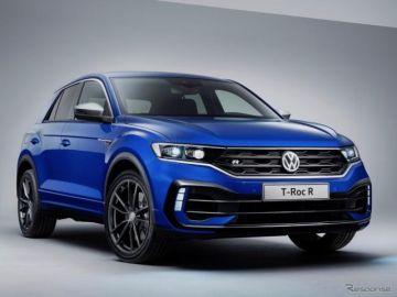 VW『T-Roc』に300馬力の「R」、受注を欧州で開始…4万3995ユーロから
