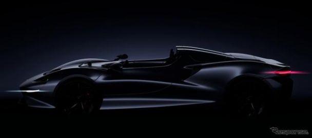 マクラーレン、新型スーパーカーを2020年に発表へ…最上級ロードスターに