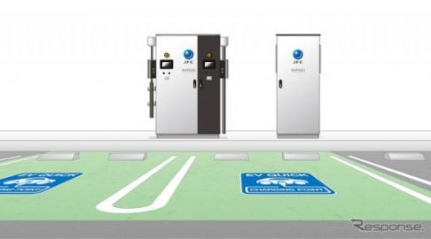 JFEテクノス、EV用100kW超急速充電器を開発 電力基本料金を70%低減