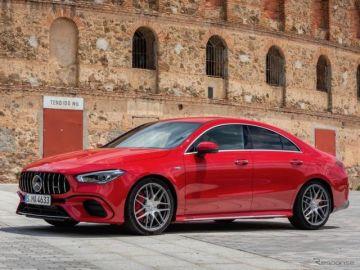 メルセデスベンツ CLA 新型に最強の「AMG45」、受注を欧州で開始…6万0095ユーロから