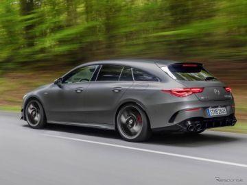 メルセデスベンツ CLAシューティングブレーク 新型に421馬力の「AMG45」、欧州受注開始…価格6万0690ユーロから