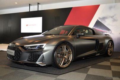 アウディ R8 にV10エンジン10周年記念車---鈴鹿10時間耐久会場で発表