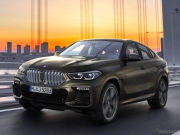 BMW のSUVクーペ、X6 新型を発表へ…フランクフルトモーターショー2019