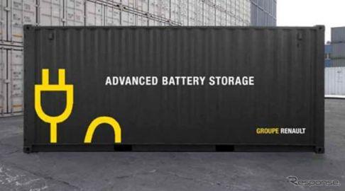 三井物産とルノーなど、EV用蓄電池を活用した独電力事業会社を設立
