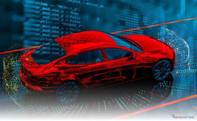 車載ソフトウェア(イメージ)《画像:アイシン・コムクルーズ》
