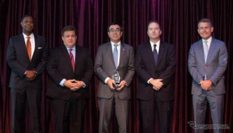 アルパイン、米FCA社よりサプライヤー・オブ・ザ・イヤーを受賞