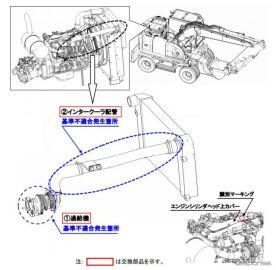 日立建機、ショベルローダ ZX145W-3 をリコール 走行不能となるおそれ