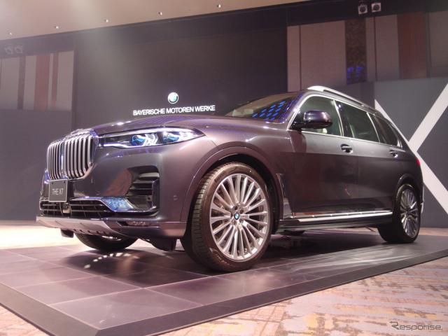 BMW X7《撮影 高木啓》