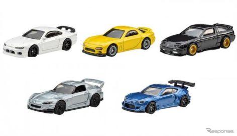 ホットウィール、国産チューニングカー5モデル発売…パンデム/スバル BRZ など