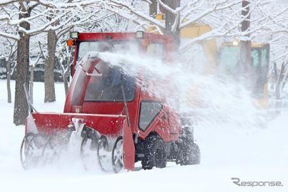 除雪車を効率的に配車、IoTを活用する実証実験を実施へ