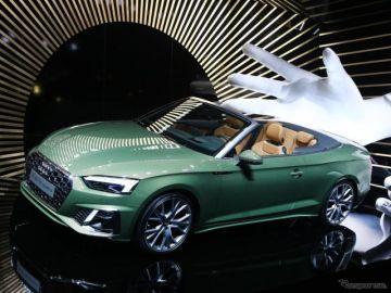 アウディ A5カブリオレ 改良新型、マイルドハイブリッド採用…フランクフルトモーターショー2019で発表