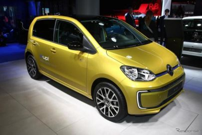 VW up!のEV、『e-up!』に改良新型、航続6割拡大…フランクフルトモーターショー2019