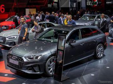 アウディ S4アバント 改良新型、ディーゼル+48Vマイルドハイブリッド…フランクフルトモーターショー2019