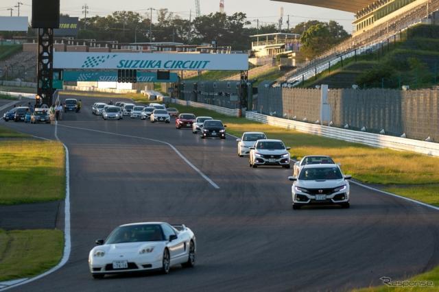 鈴鹿サーキット 国際レーシングコース(フルコース)を走行《写真 上田和則》