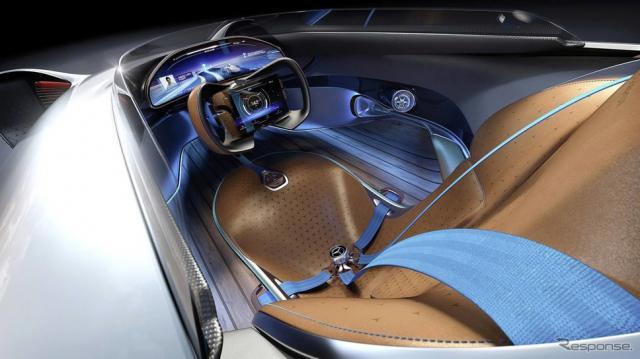 メルセデスベンツ・ビジョン EQ シルバーアロー《photo by Mercedes-Benz》