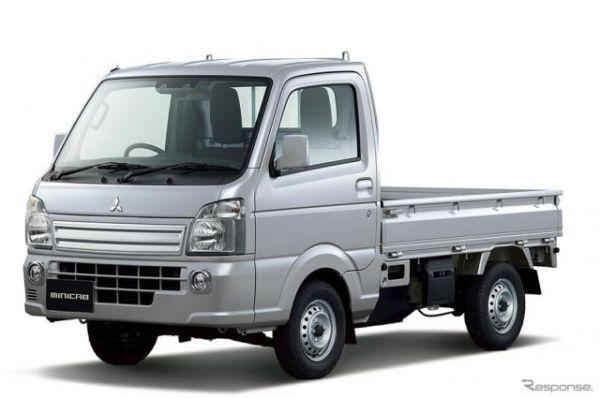 三菱 ミニキャブ トラック、一部グレードで予防安全技術を機能強化