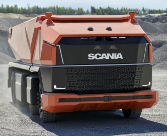 運転席のないトラック---スカニア、初の完全自動運転コンセプト