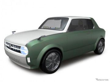 可変ボディのスズキ『ワクスポ』は家庭内シェア…東京モーターショー2019展示予定