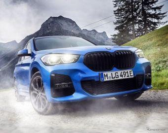 BMW X1 に初のPHV、燃費50km/リットル…2020年春に欧州発売へ
