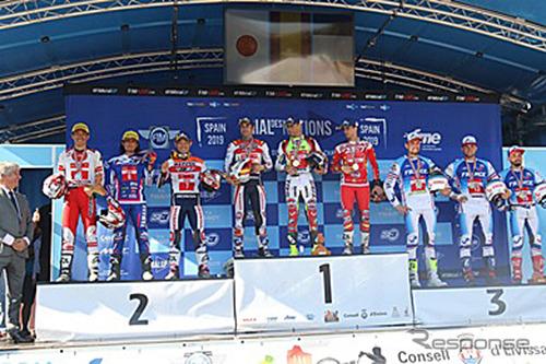 チームジャパン世界第2位獲得《画像:日本モーターサイクルスポーツ協会》