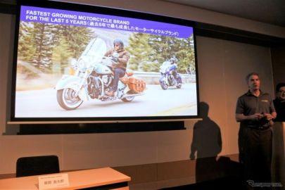 米ポラリス社CEO「日本で数年内にインディアンモーターサイクルを1000台以上販売したい」