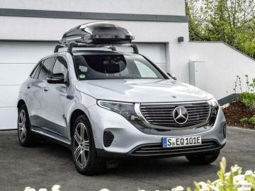 メルセデスベンツ初の市販EV『EQC』、純正アクセサリーを欧州発表