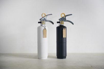 モリタ、モノトーンカラーの「+住宅用消火器」がベスト100選出…グッドデザイン2019