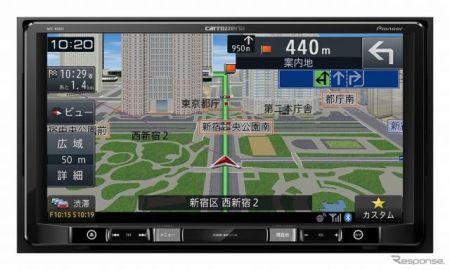 パイオニア、楽ナビ6機種を発売…9インチ大画面や低価格Bluetooth対応モデルなど