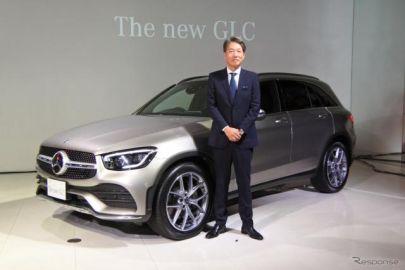 【メルセデスベンツ GLC/GLCクーペ 改良新型】上野社長「全方位にわたって進化した」