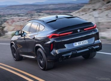 BMW X6 新型に頂点『M』、最高速290km/h のSUVクーペ