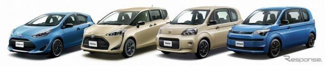 トヨタ、コンパクトカー4車種にアウトドアカジュアルテイストの特別仕様車設定