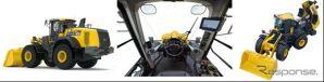 コマツ ホイールローダー WA470-10《画像:コマツ》