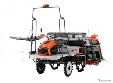 クボタ、ICT活用の乗用形田植機「ナビウェルNW8S」がベスト100選出…グッドデザイン2019