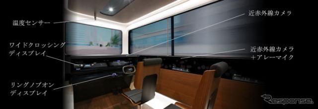 三菱電機 EMIRAI S、最新センシング&HMI技術搭載のコンセプトキャビン…東京モーターショー2019出展予定