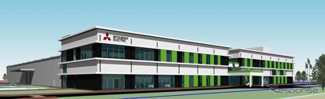 三菱電機、インドに自動車用機器の新工場を建設 EPS用モーターなど生産へ