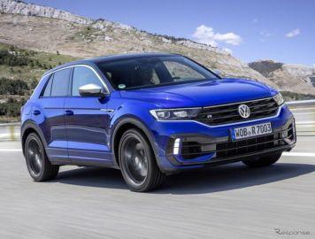 VW『Tロック』に頂点、300馬力の「R」…受注をドイツで開始