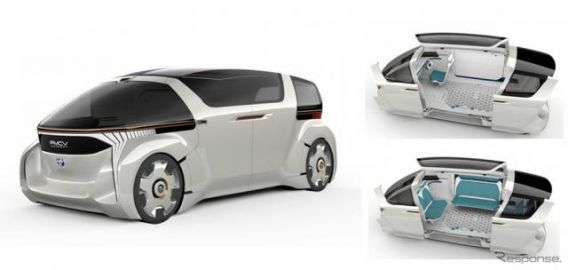 トヨタ車体、2030年 ミニバンの新しいカタチを初公開…東京モーターショー2019出展予定