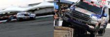 ランドクルーザー200によるデモラン《画像:トヨタ車体》