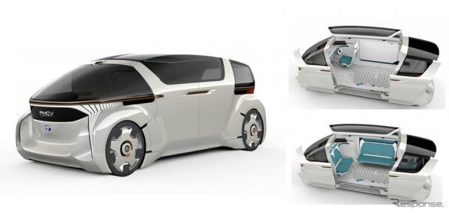 トヨタ車体 PMCVコンセプト《画像:トヨタ車体》
