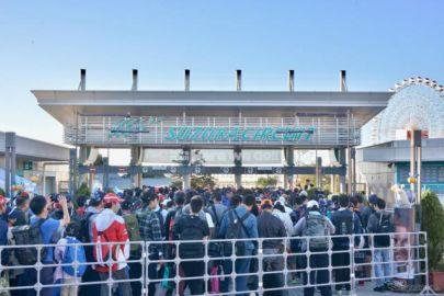 【F1 日本GP】いよいよ決勝、観客たちが続々と鈴鹿サーキットへ