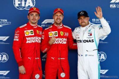 【F1 日本GP】日曜日午前に行われた予選はフェラーリがワンツー…ポールポジションはベッテル