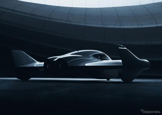 ポルシェとボーイングが共同開発する空飛ぶ車のイメージ《photo by Porsche》