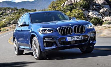 BMWグループ世界販売が過去最高、X3 は7割増 2019年1-9月