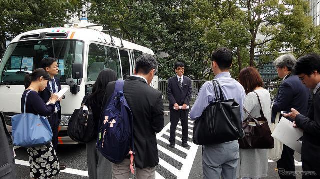 戦略的イノベーション創造プログラム(SIP)第2期 自動運転(システムとサービスの拡張) 東京臨海部 実証実験 記者発表会(内閣府 中央合同庁舎8号館/2019年10月15日)《撮影 大野雅人(Gazin Airlines)》