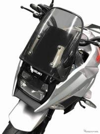 新型カタナ を GSX1100S顔に変身、スクリーン&取り付けステーセット発売 アクティブ