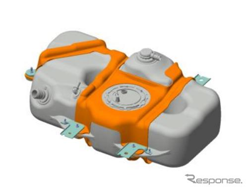 高圧密閉樹脂製燃料タンク《画像:八千代工業》