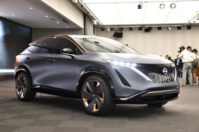 市販もそう遠くない? 日産のサプライズは電動SUV…東京モーターショー2019