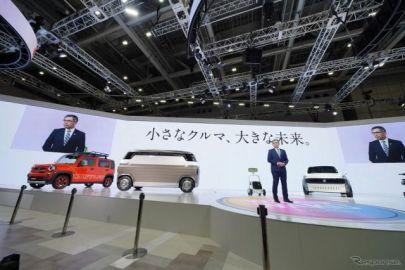 スズキではワゴン・クーペ変身PHEVや前後対称モバイルルームに注目、市販予定の二輪も…東京モーターショー2019