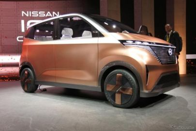 日産、軽EV『IMk』を東京モーターショー2019で世界初公開…「イノベーションを詰め込んだ箱」