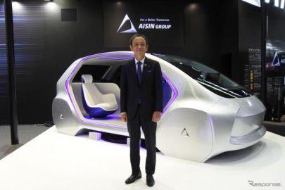 アイシン、EV向けeAxleを2020年から量産開始し C-HR へ供給…東京モーターショー2019